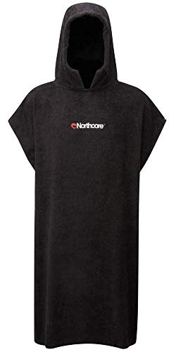 Northcore 'Beach Basha Changing Robe - Black