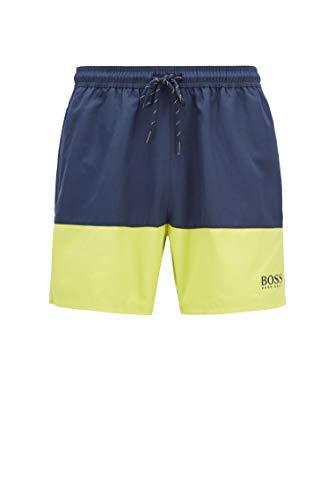 BOSS Herren Beach Set Strand-Set mit Badetuch, Badeshorts und Tasche mit Logo