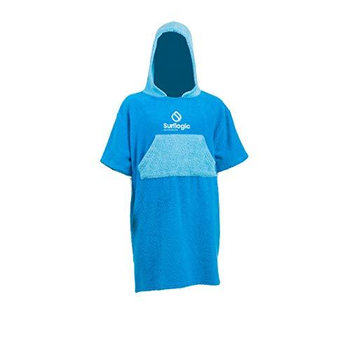Surf Logic Surflogic Junior Poncho, blau, Junior