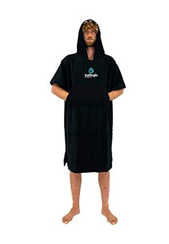 Surflogic Poncho/Changing Robe - Black - 59801
