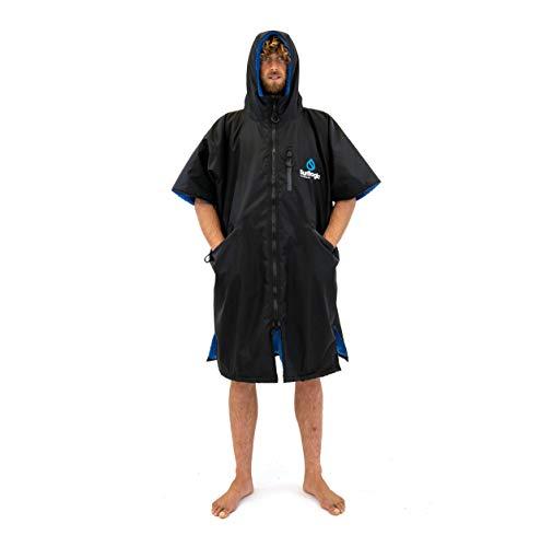 Surflogic Storm Robe SS Waterproof Poncho/Changing Robe - Black - 59822 L