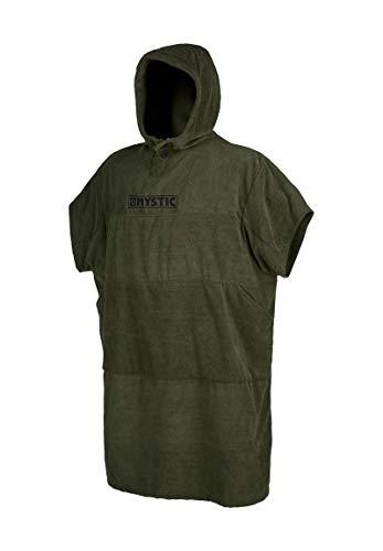Mystic Poncho oder Wickeltuch für Strand Wassersport & Surfen - Robe wechseln - Brave Green - Unisex