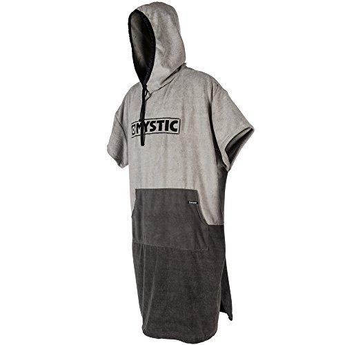 Mystic 2018 Poncho Regular Light Grey 180031