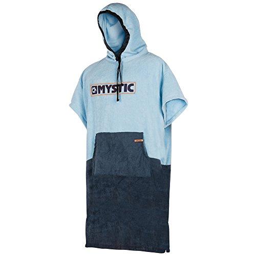 Mystic Poncho oder Wickeltuch für Strand Wassersport & Surfen - Regular Navy Grey - Unisex