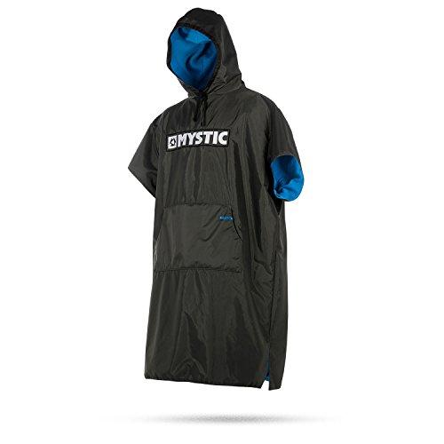 Mystic Unisex Deluxe Poncho Change Robe Autositzschutz Grau - Einheitsgröße - Strandwechsel einfach Machen