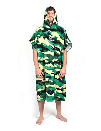 Surf Logic Poncho, Unisex, Erwachsene Einheitsgröße Camouflage