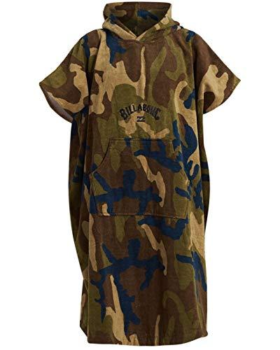 BILLABONG Wickel Robe Poncho oder Wechsel Robe Handtuch für Beach Watersports & Surfing - Militär