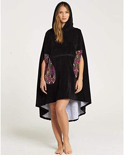 BILLABONG™ Hooded Poncho Towel - Essential - Women - U - Schwarz