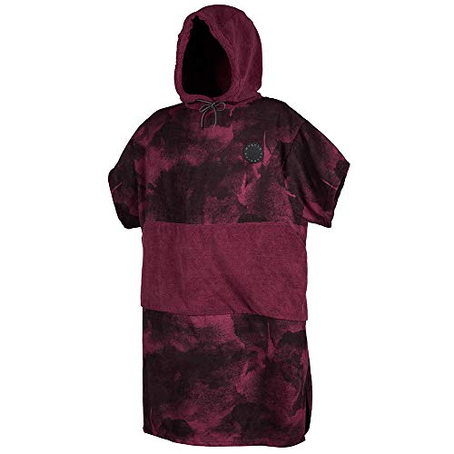 Mystic Allover Poncho 2020-Red